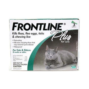 Flea Control Plus for All Cats And Kittens 3 Month Supply
