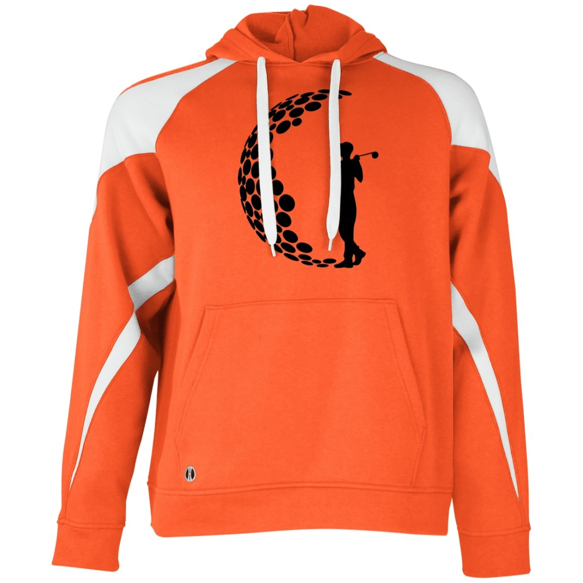 Golf Lover Holloway Colorblock Hoodie