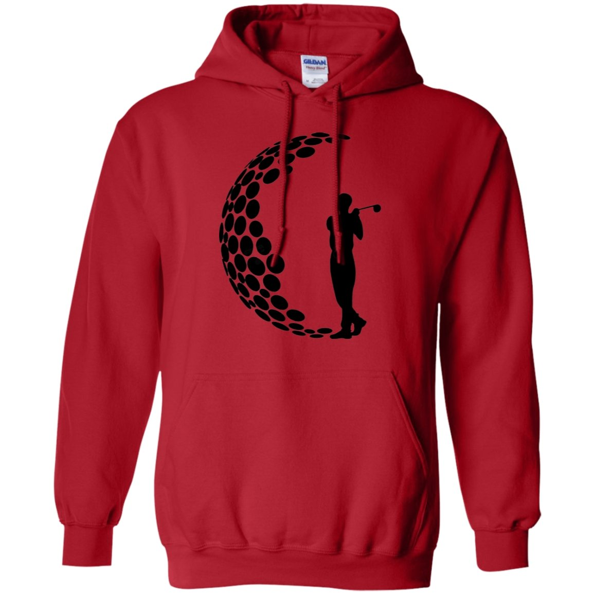 Golf Lover Pullover Hoodie 8 oz.