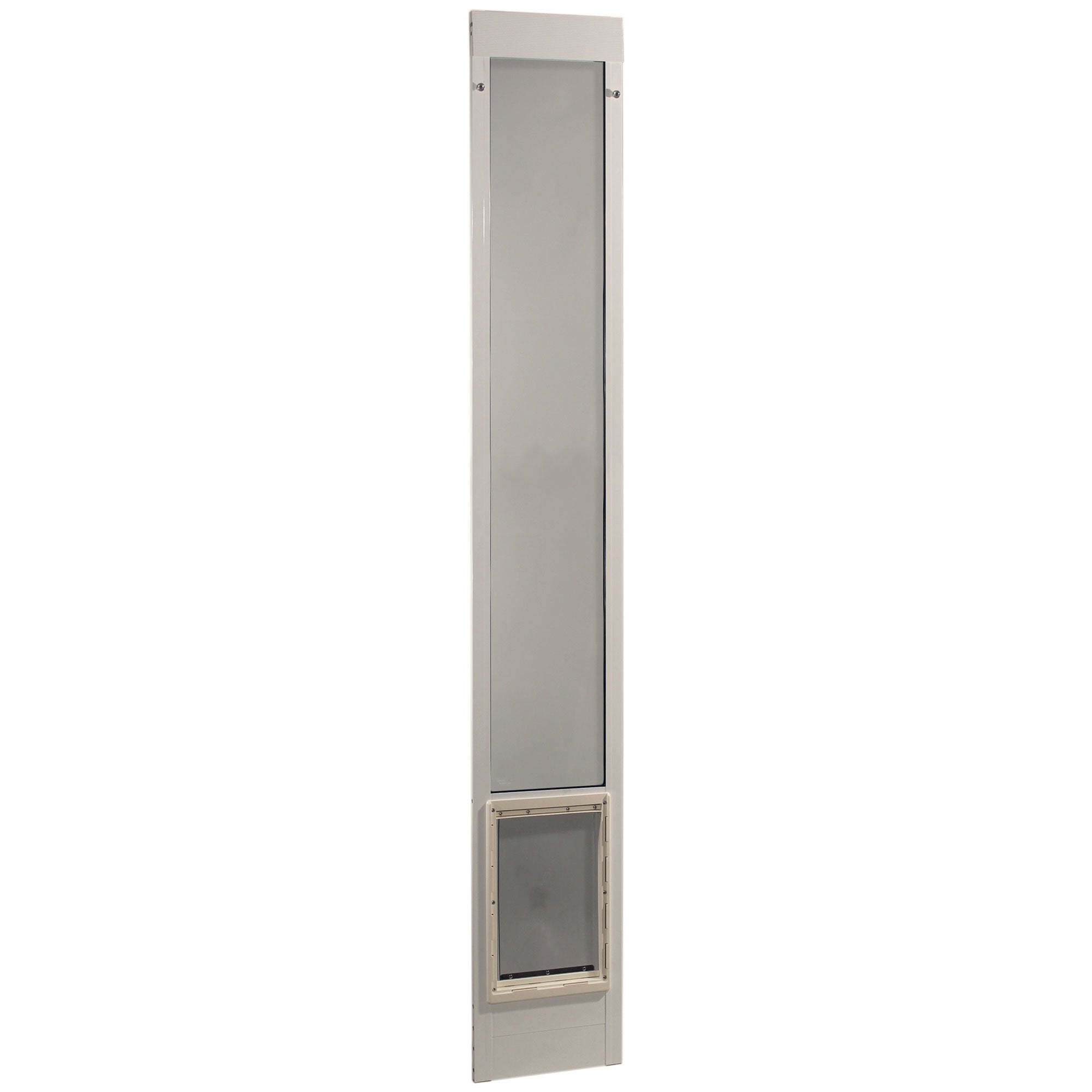 Ideal Pet Products Fast Fit Pet Patio Door Extra Large White 2″ x 15″ x 93.62″