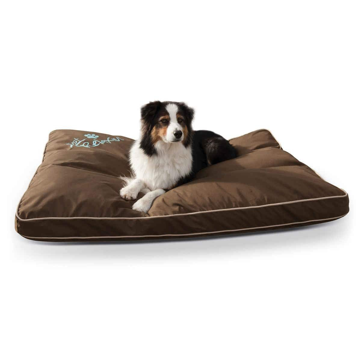 Just Relaxin' Indoor/Outdoor Pet Bed Large Chocolate 36″ x 48″ x 3.5″