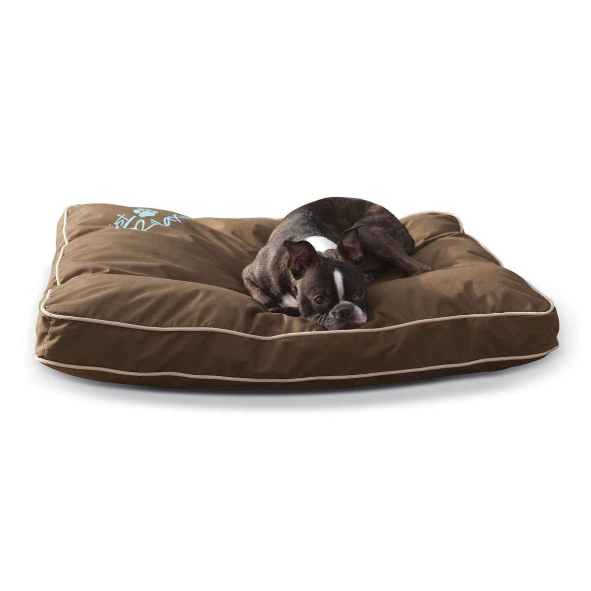 Just Relaxin' Indoor/Outdoor Pet Bed Medium Chocolate 28″ x 36″ x 3.5″
