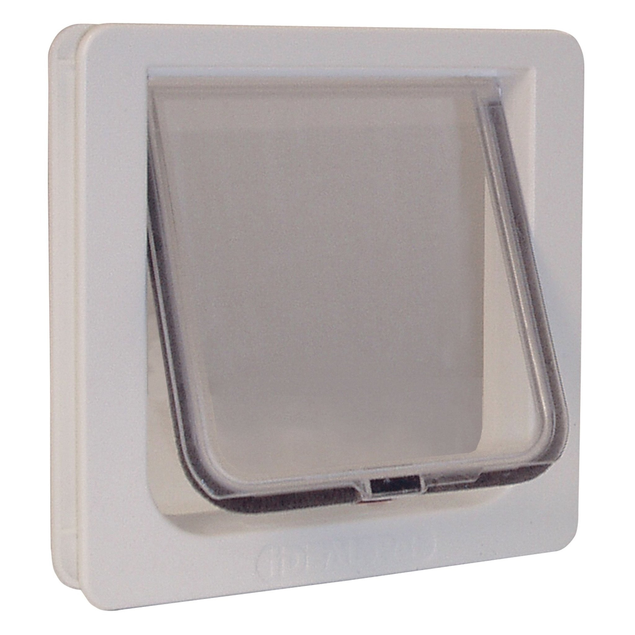 Lockable Cat Flap Door Small White 1.625″ x 8.18″ x 7.94″