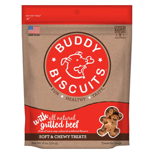 Original Soft and Chewy Dog Treats Grilled Beef 6 ounces
