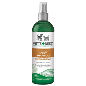 Pet Anti-Flea Easy Spray Shampoo 16oz