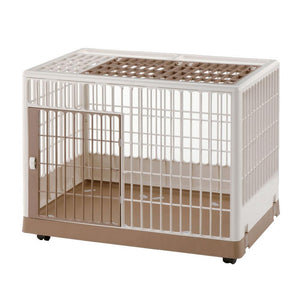 Pet Training Kennel PK-830 White / Mocha 32.5″ x 21.7″ x 24.6″