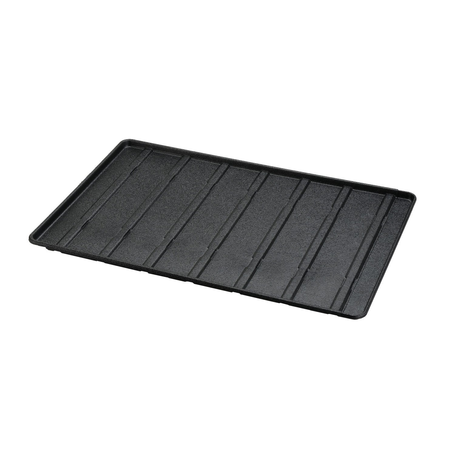 Richell Expandable Floor Tray Small Black 37″-62.2″ x 24.8″ x 1″