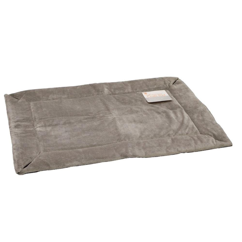 Self-Warming Crate Pad Extra Extra Large Gray 37″ x 54″ x 0.5″