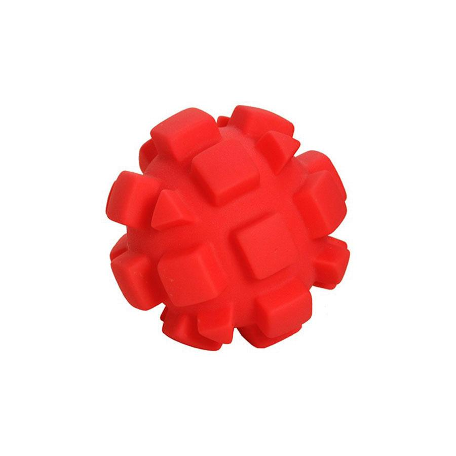 Soft Flex Bumby Ball Dog Toy Red 4″ x 4″ x 4″