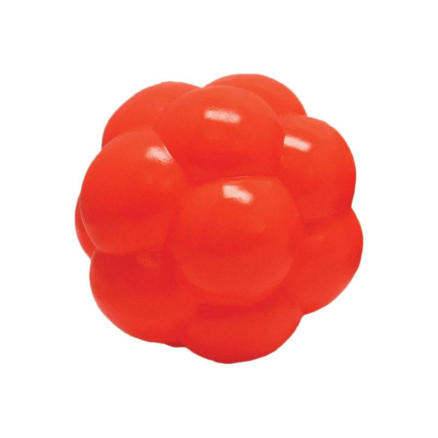 Soft Flex Molecule Dog Toy Orange 4″ x 4″ x 4″