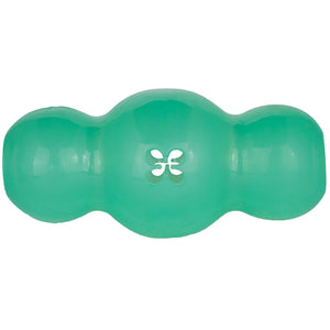 Starmark Treat Crunching Multiball Dog Toy Medium Green 4.2″ x 2.2″ x 2.2″