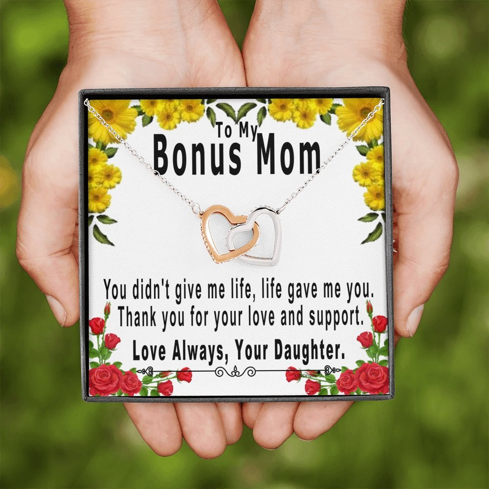Stepmom Gifts From Daughter Birthday Mothers Day And Christmas Pres Kindpaw Online