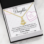 Valentine day gifts for daughter from mom - You Are Braver Than You Believe valentine's Anchor Pendant Gift Necklace for teenage Daughter