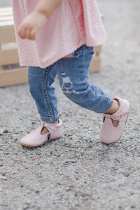 Blush Pink Mary Janes
