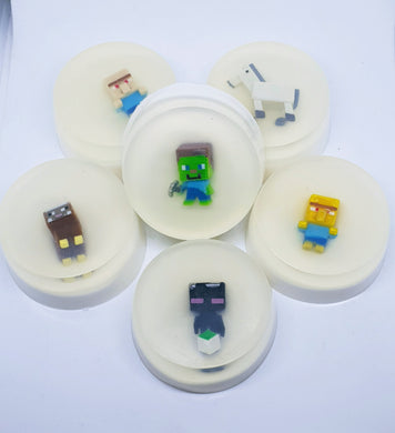 Minecraft Inspired Set of 6 Soap Discs