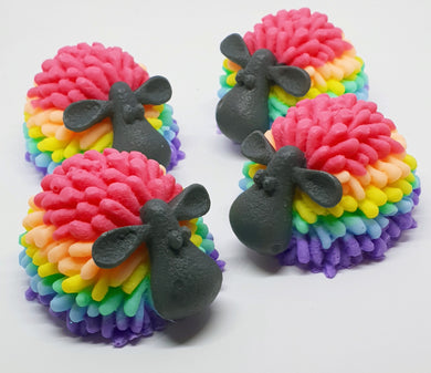 Rainbow Sheep soaps - Splash-&-Sass