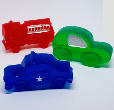 Kids Vehicle Soap Bars