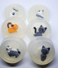 Cat Figure Toy Soaps - Splash-&-Sass