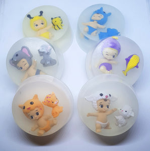 Twozie inspired Toy Soap Discs