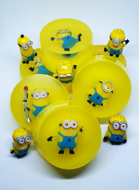 Minion Toy Soap Discs