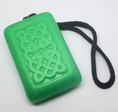 Celtic Soap on a Rope - Cucumber & Kiwi