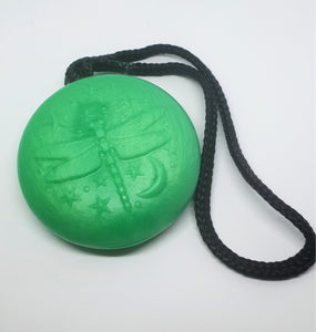 Dragonfly Soap on a Rope - Cucumber & Kiwi
