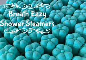Breathe Easy Shower Steamers - Splash-&-Sass