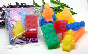 Kids Brick Party/Favour Soaps - Splash-&-Sass