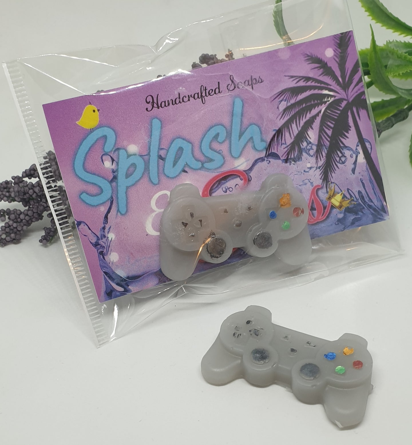 Playstation Minis Party/Favour Soaps - Splash-&-Sass