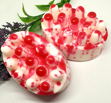 Bloody Bath Time Murder Massage Soap Bars - Splash-&-Sass