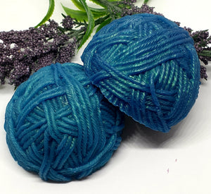 Ocean Green Ball of Wool / Yarn Soap Bar - Splash-&-Sass