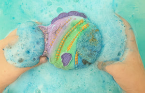 Freddy Fish Bath Bomb - Splash-&-Sass