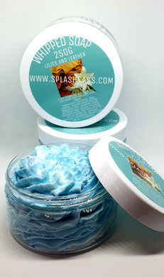 Lilies and Leather Type Whipped Soap - Splash-&-Sass