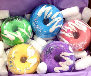 Bath Dunkin Donuts Bath Bomb Gift Set - Splash-&-Sass