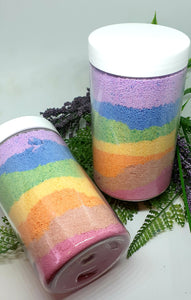 Rainbow Bath Sprinkle Bath Bomb Powder - Splash-&-Sass