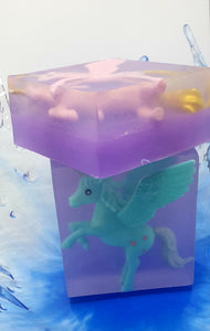 Pegasus Unicorn Toy Soaps