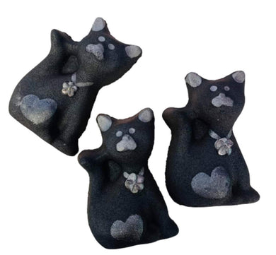 Black Cat Luxury Bath Bomb - Splash-&-Sass
