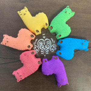 Lotsa Llamas Bath Bomb Grab Bag - Splash-&-Sass