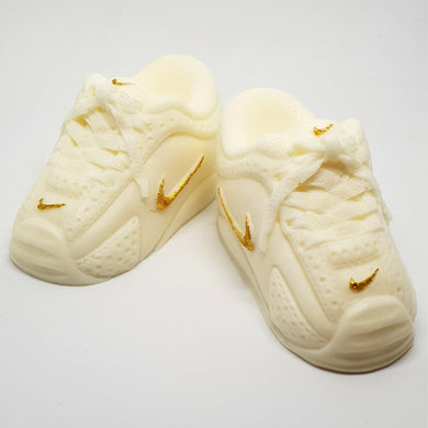 Cute Kicks Runner Inspired Soaps White