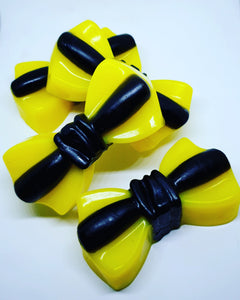 Yellow Bow Soap Bars - Splash-&-Sass