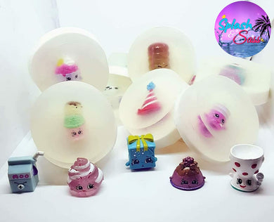 Shop Toy Soaps - Shopkins Inspired - Splash-&-Sass