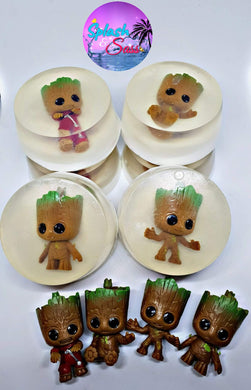 Toy Soaps - Groot inspired - Splash-&-Sass
