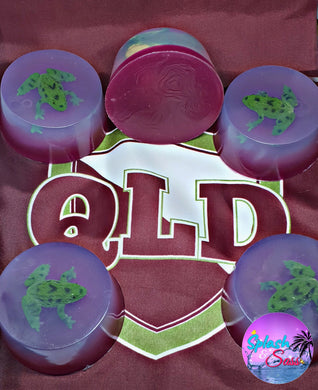 QLD Canetoads State or Origin Inspired Soaps