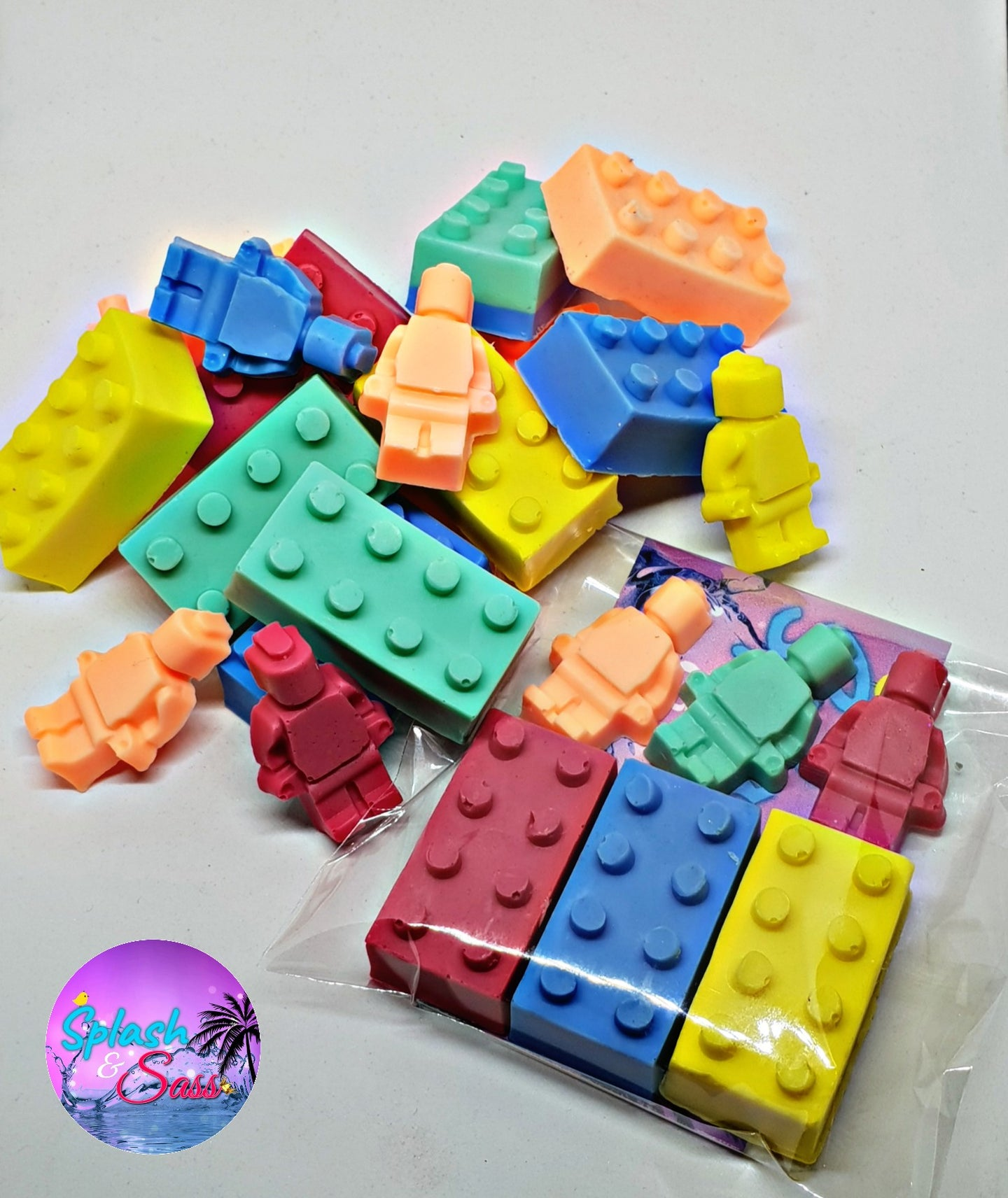 Bricks Soap Packs - Splash-&-Sass