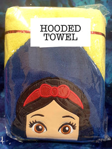 Dwarf Princess Hooded Towel