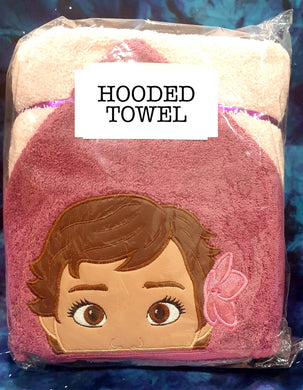 Baby Island Princess Hooded Towel
