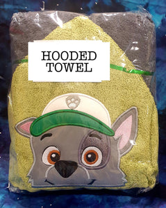 Recycle Pup Hooded Towel