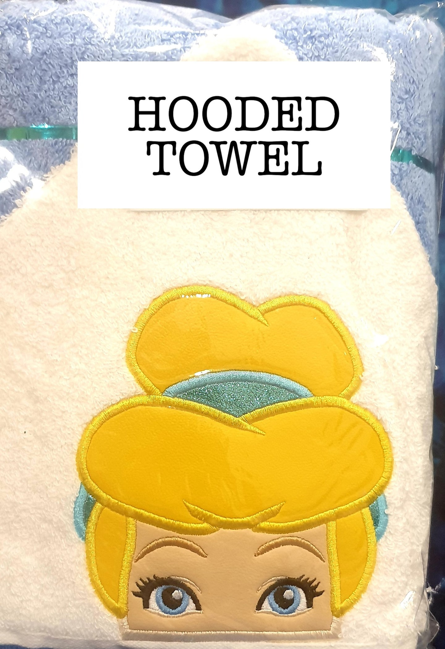 Slipper Princess Hooded Towel