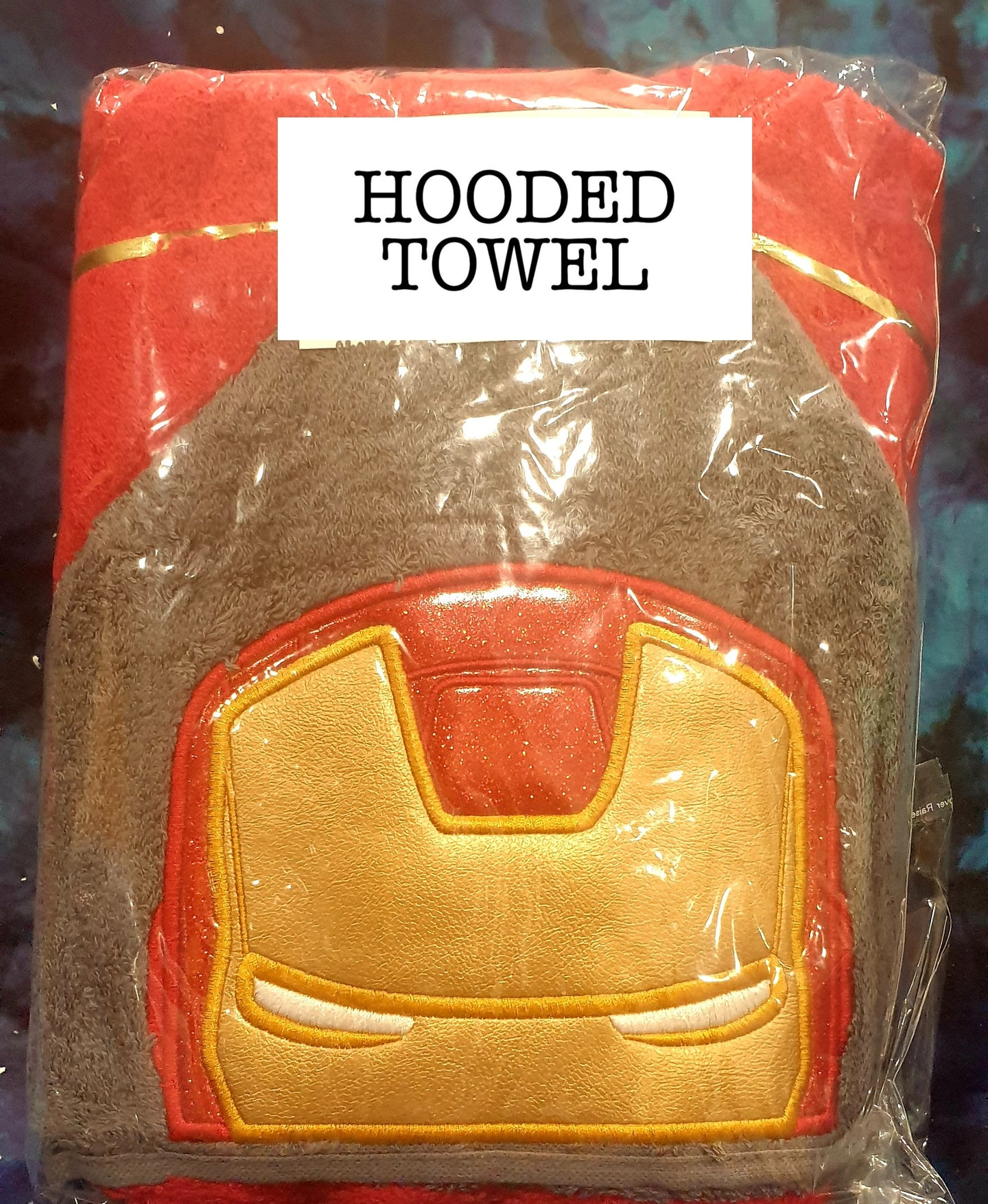 Iron Hero Hooded Towel