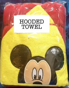 Boy Mouse Hooded Towel